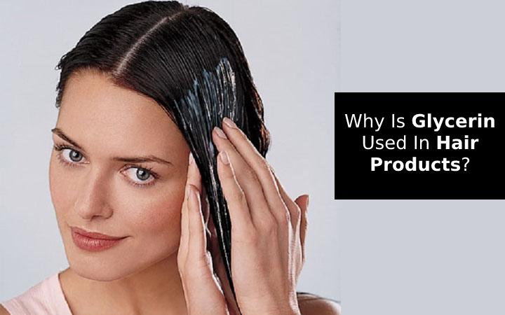 Glycerin for hair